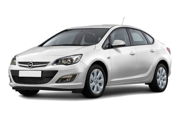 Rent A Car OPEL ASTRA J SEDAN 1.6 benzin