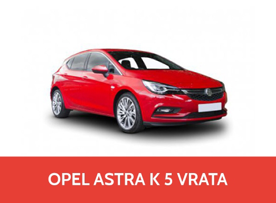 Rent A Car OPEL Astra K 1.4