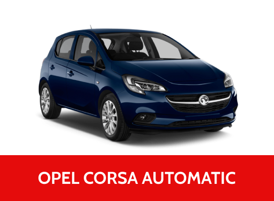Rent A Car OPEL CORSA  1.2 benzin