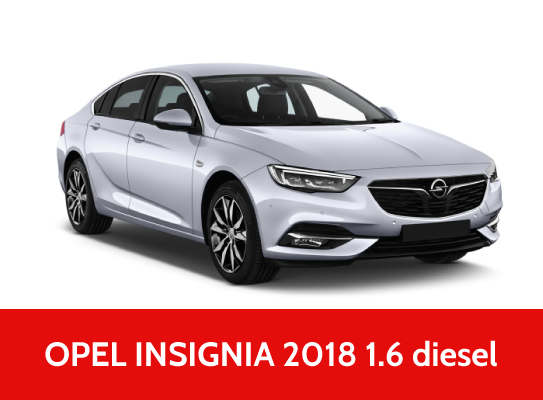 Rent A Car OPEL INSIGNIA 2018  dizel
