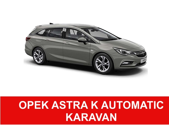 Rent A car R opel astra k karavan auzomatic