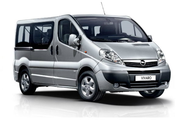 Rent A Car OPEL VIVARO 2.0 dizel 7+1